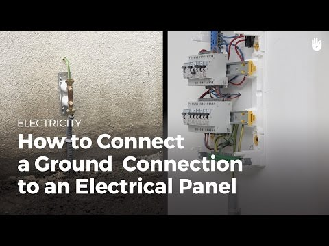 Ground Connection: Connect to an Electrical Panel | Electricity