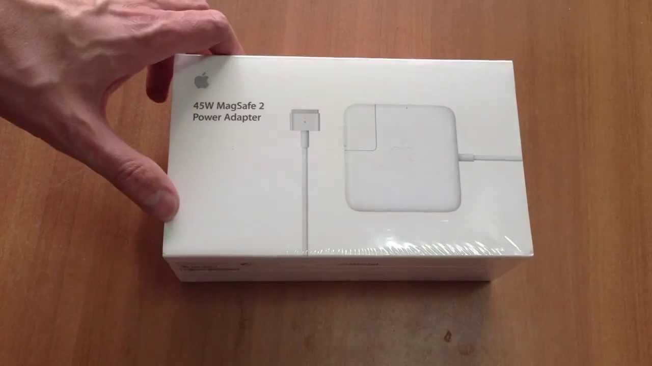 Apple 45w Magsafe Power Adapter For Macbook Air Youtube