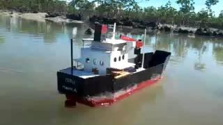 remote control cargo ship
