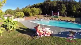 Camping Dordogne 4 étoiles – film aérien camping Le Val de la Marquise proche de Sarlat
