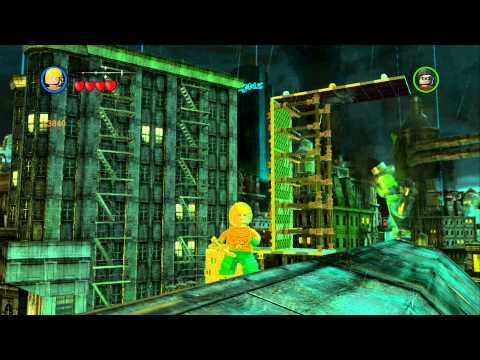 LEGO Batman 2 DC Super Heroes - Unlocking Heroes in Gotham City Central (Gold Doors)