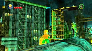 LEGO Batman 2 DC Super Heroes - Unlocking Heroes in Gotham City Central (Gold Doors)