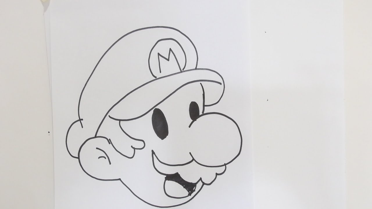 How to Draw Super Mario Bros  YouTube