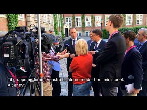 Tommy Ahlers' første måned som uddannelses- og forskningsminister
