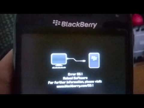 Fix Error 561 blackberry 9790