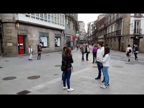 Pontevedra sale a la calle en el primer día de permiso