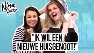 MARIJE ZUURVELD BANG om ALLEEN te ZIJN?! | Nina Warink Kookt! - CONCENTRATE VELVET