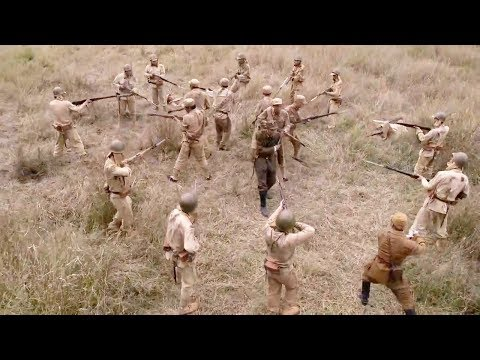 Final Battle!Chinese Army Vs Japanese Army丨WW2丨Guerrilla Soldier 34