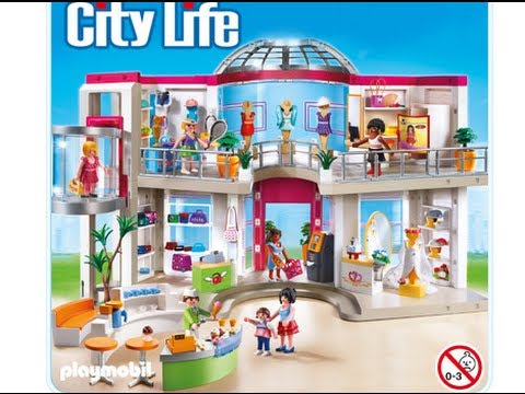 playmobil 2014 city life le grand magasin shopping center. Black Bedroom Furniture Sets. Home Design Ideas