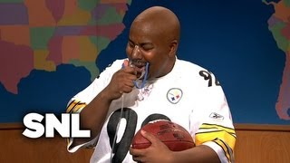 Weekend Update: James Harrison On His Historic Interception - SNL