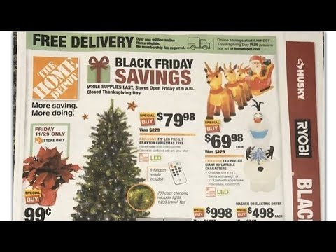 HOME DEPOT BLACK FRIDAY 2019