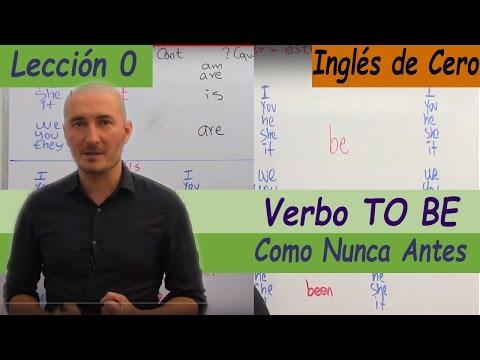 La MEJOR Explicación Del TO BE TODOS Los Tiempos Y Formas, Facilísimo, INGLÉS DESDE CERO