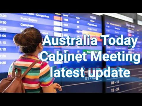Australia Latest Update ||Hindi|| National Cabinet Meeting ruined International Students Hopes