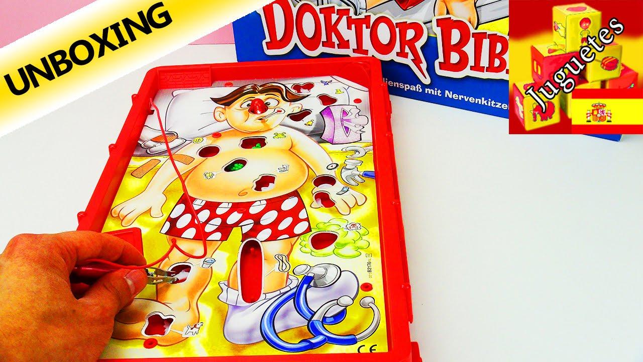 Doctor Bibber Hasbro Operacion Youtube