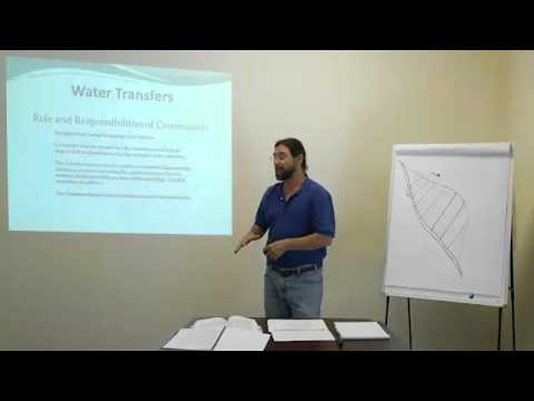 Water Transfers & Water Banking