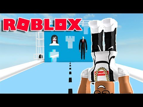 DON'T GET CRUSHED BY A WALL IN ROBLOX! (HOLE IN THE WALL)