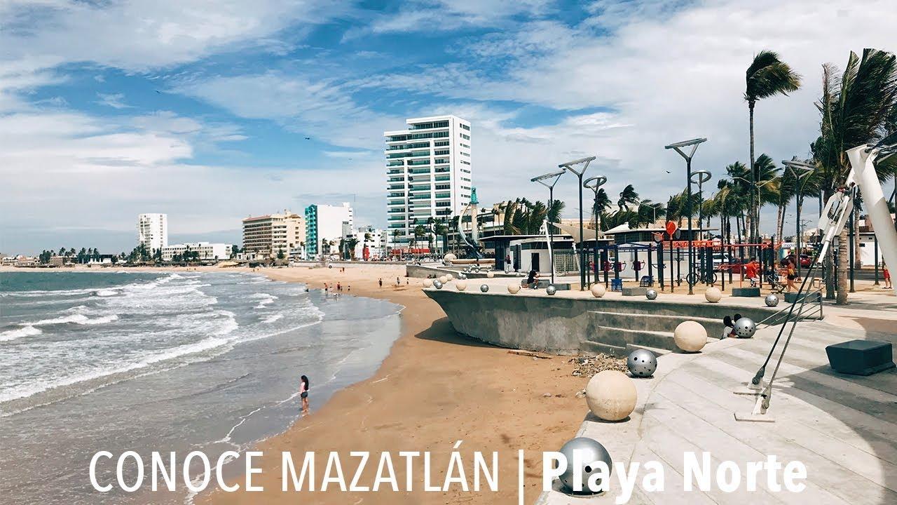 Resultado de imagen para playa norte mazatlan