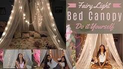 Fairy Light Canopy || DIY || Romantic & Cute
