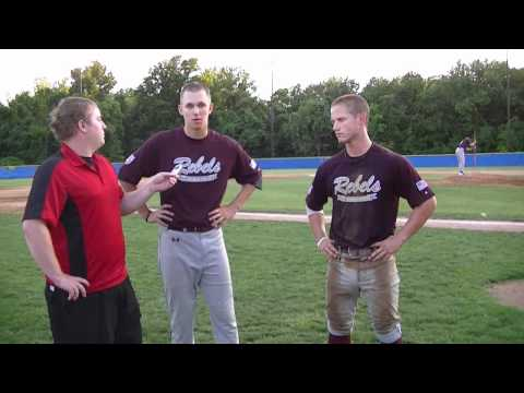 Postgame Interviews with Spitzfaden and Sipe of the Rebels, 6-19-12