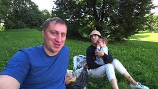 Вспоминаем наши первые дни совместной жизни. Прогулка по реке и в парке.