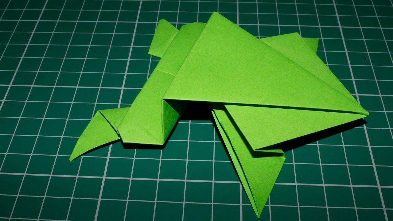 origami un sapo