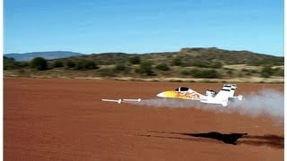 shooting a estes rocket from a radio controlled aircraft rc video roy dawson video