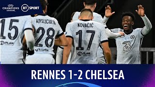 Rennes v Chelsea (1-2) | Champions League Highlights