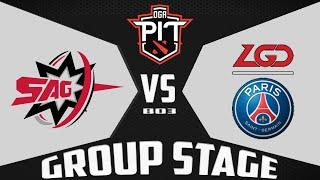PSG.LGD vs SAG - OĠA Dota PIT Season 3: China - Dota 2 Higlights