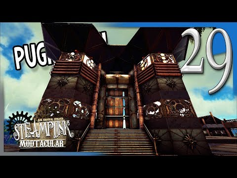 BUILDING THE GATES OF THE MAIN FACILITY! | ARK  Survival Pooping Evolved (Modded w/Pugnacia) E29