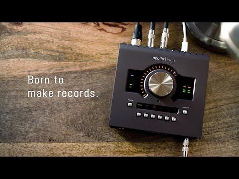 Universal Audio Apollo Twin MKII SOLO 2x6 Thunderbolt Audio
