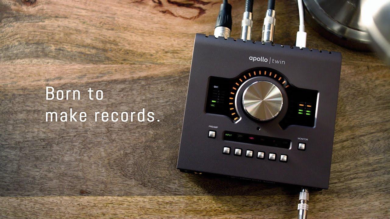 Apollo Twin MkII Audio Interface w/UAD-2 DUO Core Processing