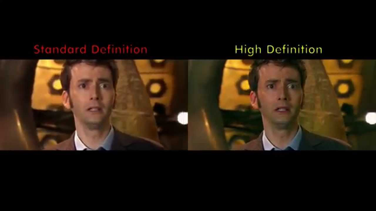 What Does Sd Mean >> Hd Vs Sd Comparison