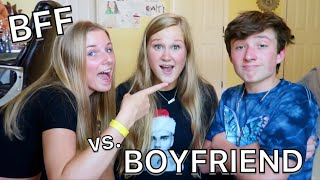 WHO KNOWS ME BETTER ?? - BOYFRIEND vs. BESTFRIEND