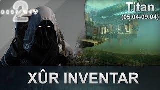 Destiny 2 Forsaken: Xur Standort & Inventar (05.04.2019) (Deutsch/German)