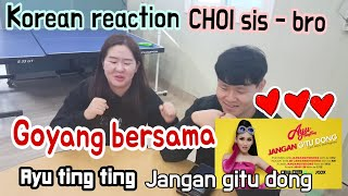Download Reaction - Jangan gitu dong  Ayu tingting (official music video) Reaksi Orang korea Mp3