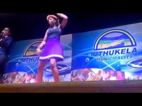 Download Zion KaMkhono Vilakazi performing Dube limthente like never before. Ft dancer Sanele Magwaza