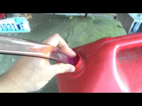 Harbor Freight Gasoline Jiggle Siphon Reivew
