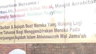 Qurban. 1570 Kambing. Roudlotussalaf & ibadah.sg singapore