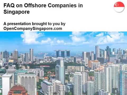 FAQ on Offshore Companies in Singapore