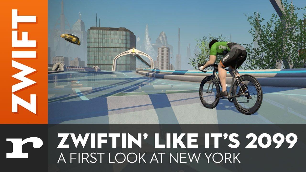 Zwift launches futuristic New York world | road cc