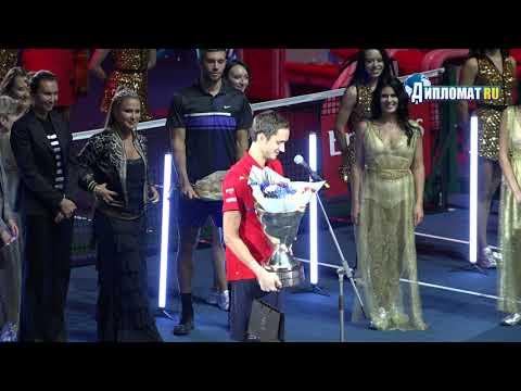 Чемпион St. Petersburg Open 2019 Даниил Медведев пообещал вернуться в Петербург в следующем году