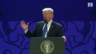 Trump talks tough trade at APEC