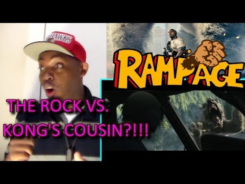 Thumbnail: RAMPAGE - OFFICIAL TRAILER 1 REACTION!!!