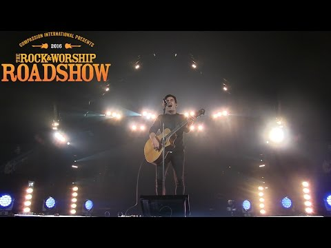 Phil Wickham performing live at The Rock & Worship Roadshow 2016