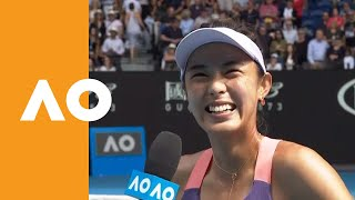 "Qiang Wang: ""I was a little confused""  