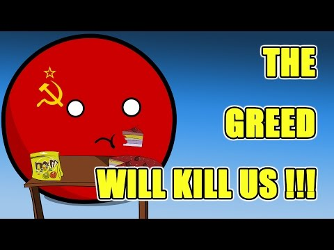Saudi Arabia finds oil, Greedy soviet and Hungary dealing with refugees - Countryballs
