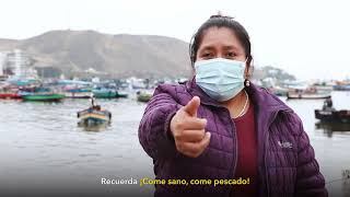 Conoce la historia de Edilberta Rubiños, pescadora artesanal de Ancón.
