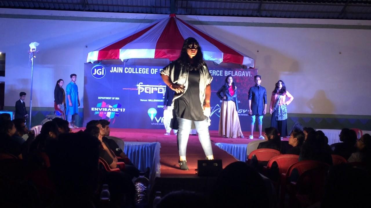 Fashion Show Ivant 17 Lingaraj College Youtube