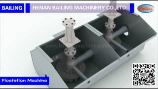 3D Animation Demo & working site of flotation machine