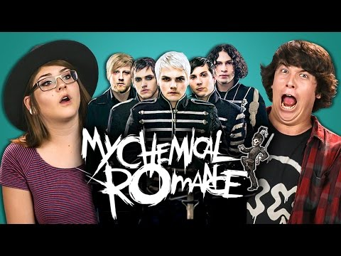 College Kids React to My Chemical Romance (MCR X)